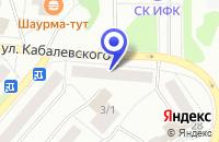 Схема проезда до компании РЕМОНТНО-СТРОИТЕЛЬНАЯ ФИРМА ГЕОПРОТЕКТ в Чайковском