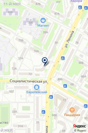 БЕЛКАМСЕРВИС на карте Нефтекамска