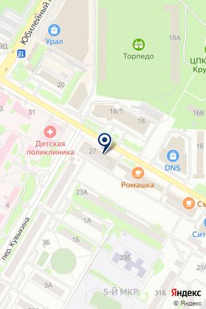 НИКА МАГАЗИН на карте Нефтекамска