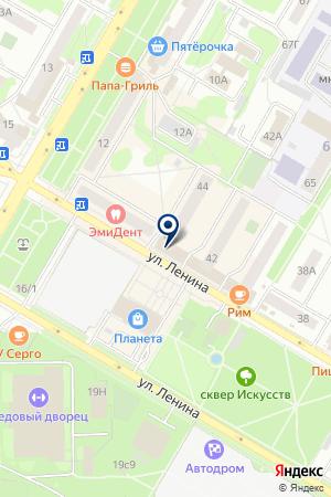 МАГАЗИН АВТОЛЕДИ на карте Нефтекамска