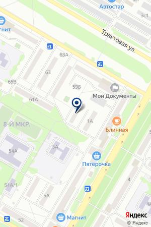 КОМПАНИЯ МЭРИ КЭЙ на карте Нефтекамска