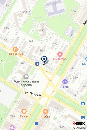 РЕДАКЦИЯ ГАЗЕТЫ КОНТАКТ на карте Нефтекамска