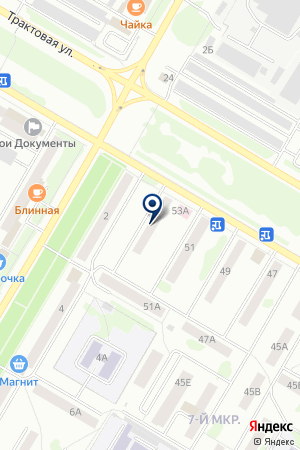 ВАЗИЕВ Д. М. на карте Нефтекамска