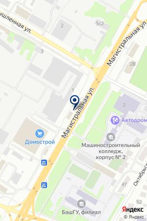 НЕФТЕГАЗСПЕЦСТРОЙ на карте Нефтекамска