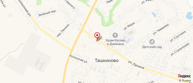 Карта расположения пункта доставки Ростелеком в городе Нефтекамск