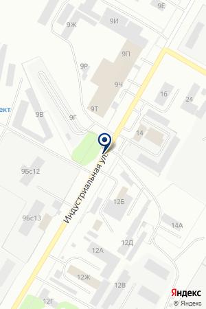 НЕФТЕКАМСКОЕ ССМУ ГАЗСПЕЦСТРОЙ на карте Нефтекамска