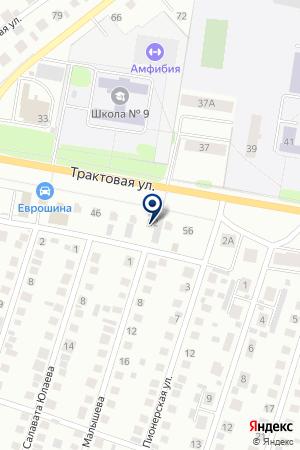 ПТФ ТРАНСНЕФТЕГАЗСТРОЙ на карте Нефтекамска