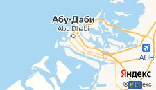 Отели города Абу-Даби на карте