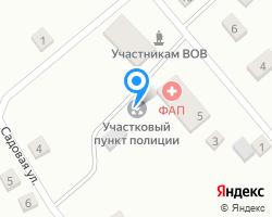 Схема местоположения почтового отделения 452269