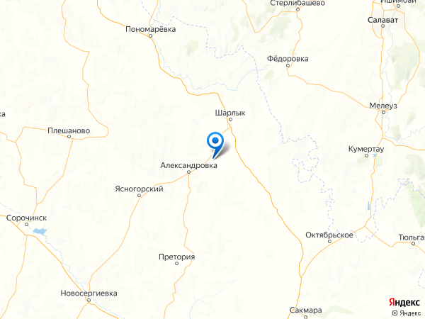 село Новодмитриевка на карте