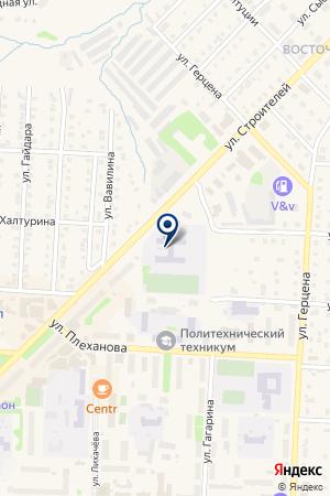 МАГАЗИН АВТОЗАПЧАСТЕЙ МАСТЕРОВ А.Ю. на карте Кудымкара