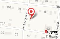 Схема проезда до компании Компания по аренде спецтехники и грузоперевозкам в Николаевке