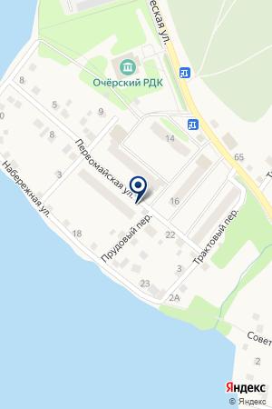 СКЛАДСКАЯ БАЗА ЖИЛРЕМСЕРВИС на карте Очера