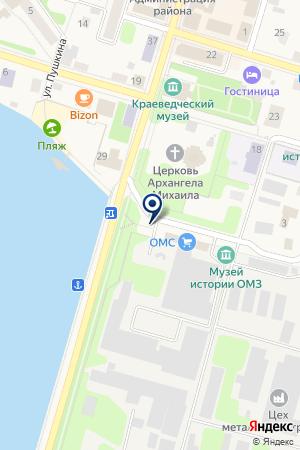 СТРАХОВАЯ КОМПАНИЯ СПАССКИЕ ВОРОТА на карте Очера