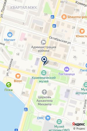 СТРАХОВАЯ КОМПАНИЯ РУССКИЙ МИР на карте Очера