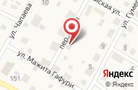 Схема проезда до компании Ямаха ТЕХНОПАРК в Петрозаводске