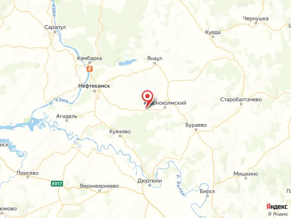 деревня Старые Калтасы на карте