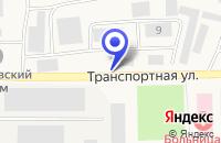Схема проезда до компании ГАЗОВОЕ ПРЕДПРИЯТИЕ КОМИРЕГИОНГАЗ в Сосногорске