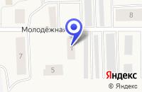 Схема проезда до компании СОСНОГОРСКАЯ ШВЕЙНАЯ ФАБРИКА в Сосногорске