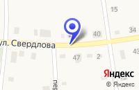 Схема проезда до компании ЦЕНТРАЛЬНАЯ РАЙОННАЯ БОЛЬНИЦА в Елово