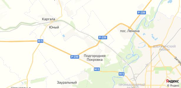 Павловка на карте