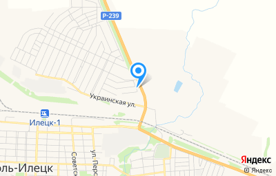Местоположение на карте пункта техосмотра по адресу Оренбургская обл, г Соль-Илецк, ул Шоссейная, д 19/1