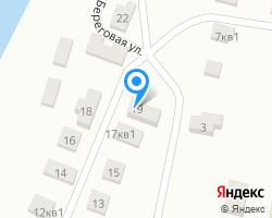Схема местоположения почтового отделения 460552
