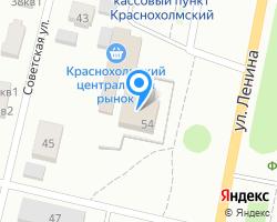 Схема местоположения почтового отделения 452852