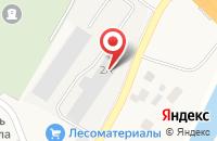 Схема проезда до компании Truсk-servis в Ленине