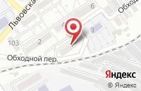 Схема проезда до компании Атум в Оренбурге