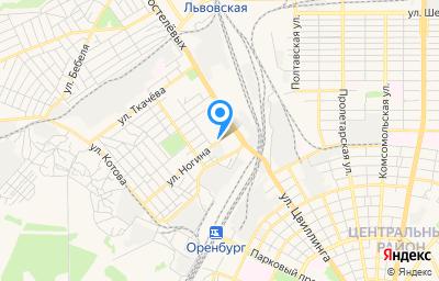 Местоположение на карте пункта техосмотра по адресу г Оренбург, ул Ногина, д 85/1
