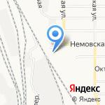 Дракоша на карте Оренбурга