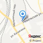 Компания ШИК на карте Оренбурга