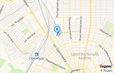 Местоположение на карте пункта техосмотра по адресу г Оренбург, ул Невельская, д 9/1