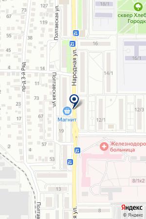 АВТО АНГЕЛ ОРЕНБУРГ на карте Оренбурга