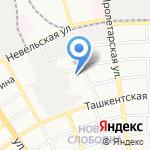 Руссервис на карте Оренбурга