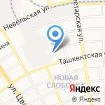 Поставщик на карте Оренбурга