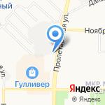 ВИСЛА на карте Оренбурга