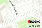 Схема проезда до компании Твоё в Оренбурге
