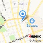 Центр по трудоустройству на карте Оренбурга