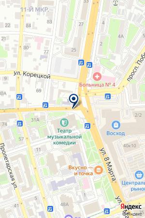 56 СТРОЙКА на карте Оренбурга