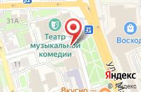 Схема проезда до компании Технофлай в Оренбурге