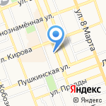 Адвокаты Юристы на карте Оренбурга