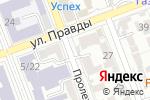 Схема проезда до компании Цветочная база в Оренбурге