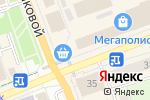 Схема проезда до компании Miss в Оренбурге