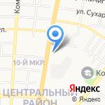 Банк Хоум Кредит на карте Оренбурга