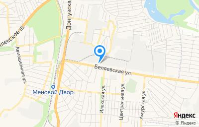 Местоположение на карте пункта техосмотра по адресу г Оренбург, ул Беляевская, д 8