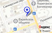 Схема проезда до компании ИКБ РУСЬ в Оренбурге