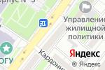 Схема проезда до компании Буревестник в Оренбурге