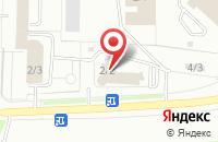 Схема проезда до компании Автоматизированные Идентификационные Системы в Оренбурге
